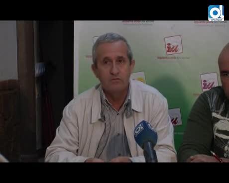 Antonio Franco, ratificado como alcaldable de Izquierda Unida para las Elecciones Municipales 2015
