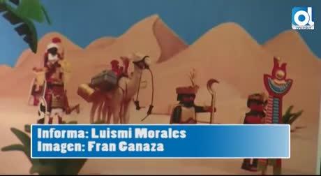 El Palacio de Araníbar acoge por segundo año consecutivo el belén solidario Playmobil de La Gaviota