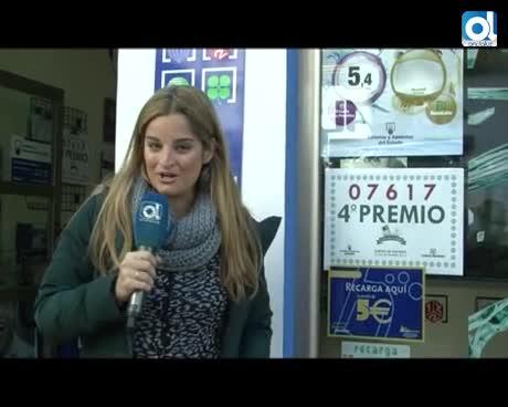 Un carnicero, un panadero y un camarero se llevan los 50.000 euros del tercer premio de la lotería