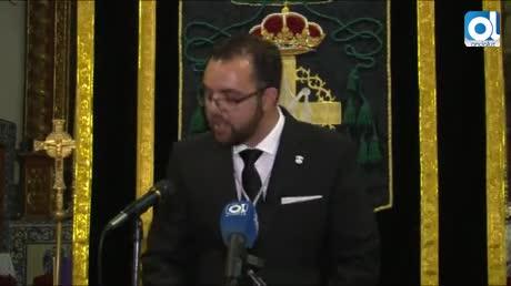 Francisco Manuel Orellana se dirige al Señor de las Caídas