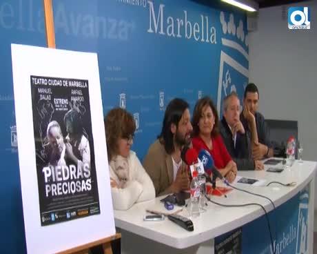 """La obra """"Piedras Preciosas"""" lleva al teatro el paso de Cocteau por Marbella"""