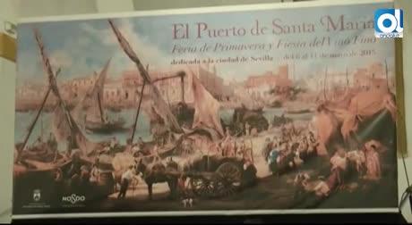 Una obra de Juan Lara, cartel de la Feria de Primavera
