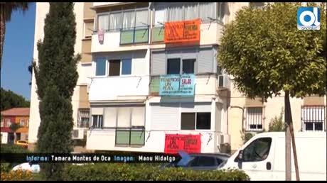 La barriada de Palma-Palmilla 'tiende' sus reivindicaciones