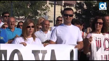 Padres despiden el curso reclamando el prometido instituto en Teatinos