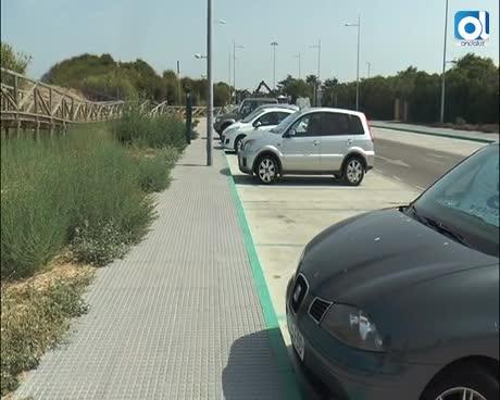 EQUO Rota denuncia el lugar elegido para el aparcamiento de la playa de Punta Candor