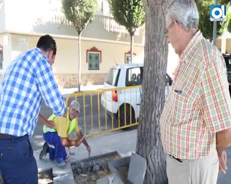 El Ayuntamiento acomete trabajos de mantenimiento en el paseo marítimo del Rompidillo y Galeones