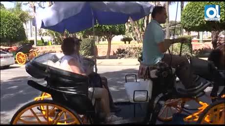 Ciudadanos apuesta por sustituir los coches de caballos del centro por vehículos eléctricos de época