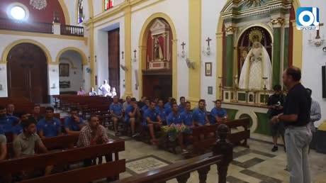 Ofrendas florales del San Fernando CD a la Virgen del Carmen y a la Pastora