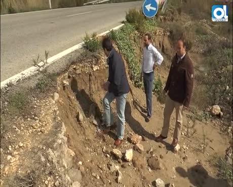 El Partido Popular reclama a la Junta el arreglo de la A-2078 y la limpieza de los arroyos que la cruzan