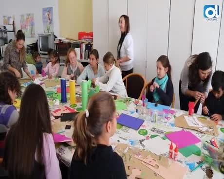El programa 'Ciudades ante las drogas' celebra un taller de manualidades para niños
