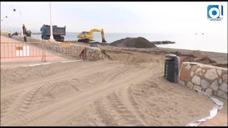 El PSOE se compromete con las obras pendientes en el paseo marítimo de Guadalmar