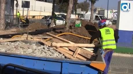 Reparan la rotura de la tubería que suministra el agua a La Carraca y la Población Militar de San Carlos