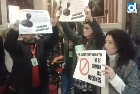 Participa abandona el Pleno en protesta por el ninguneo a las mociones