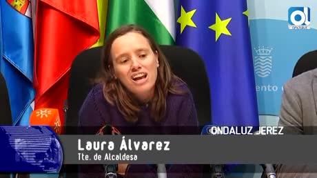 """Laura Álvarez: """"El PP deja sin oportunidades de empleo a los jerezanos"""