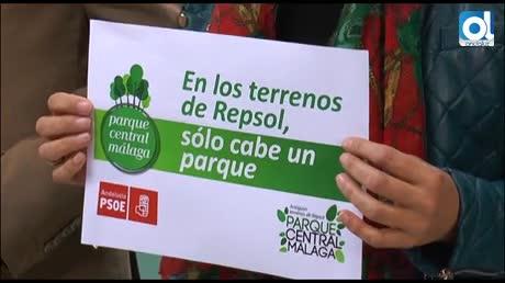 Campaña socialista por un bosque urbano en Málaga