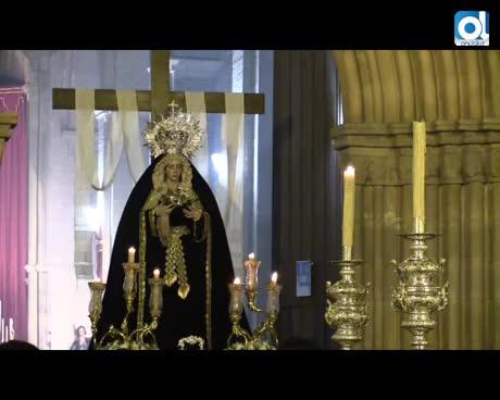 En vídeo: La Resurrección celebró su Vía Crucis con la Virgen del Amor