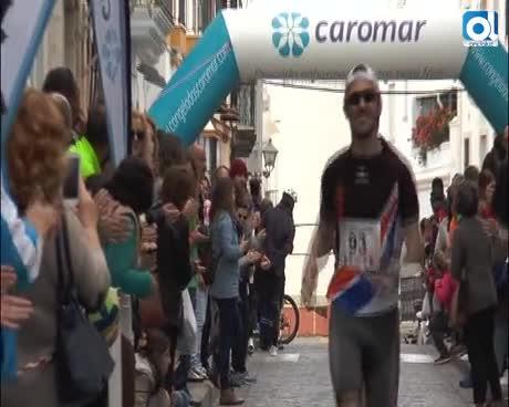Manuel Jesús González, vencedor de la XXXI Media Maratón Rota-Chipiona