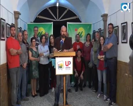 La asamblea de Izquierda Unida muestra su respaldo a Antonio Franco y Manuel Helices tras las pintadas