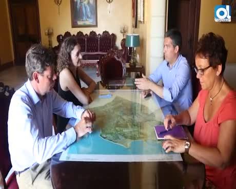 El alcalde recibe a la nueva presidenta del CEEI Bahía de Cádiz