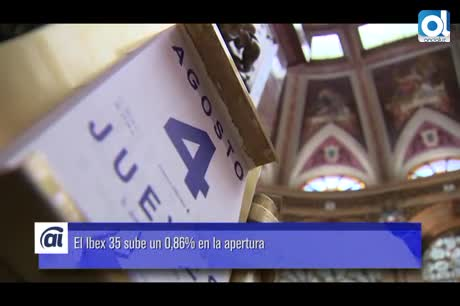 El Ibex 35 cae un 0,23% en la apertura