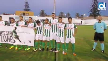 Emotiva victoria del Atlético Sanluqueño ante el Jumilla por 1-0