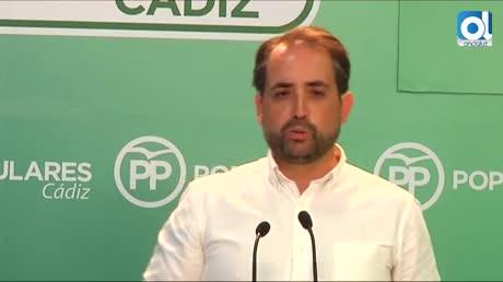 """Díaz """"debe rectificar su ninguneo a Cádiz en materia sanitaria"""""""