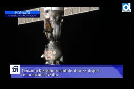 Aterriza con éxito la nave Soyuz TMA-20M, con tres tripulantes a bordo