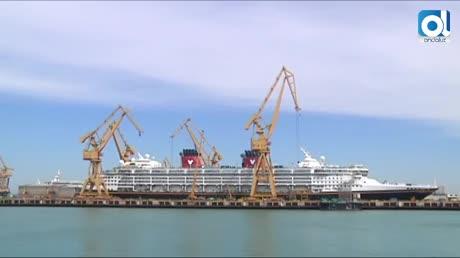 La reforma del crucero Disney Wonder dará trabajo a 1.500 gaditanos