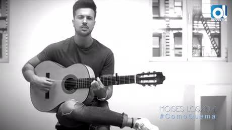 El onubense Moisés Losada se estrena en solitario con 'Como quema'