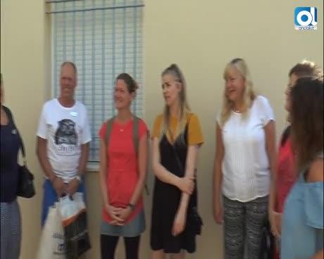 Seis profesores suecos trasladan su experiencia al colegio 'Pili Varo'