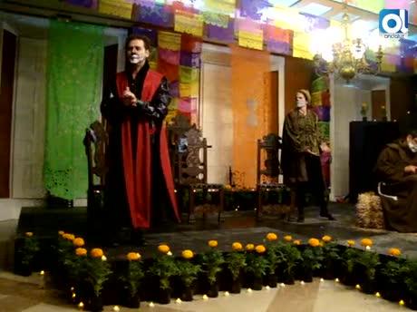 Cervantes y México, de la mano en la Fiesta de Muertos
