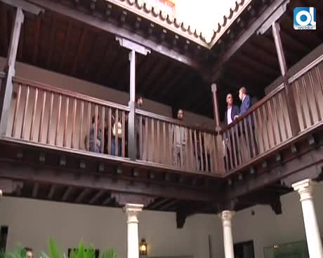 El Alcázar abre patio e inicia las catas de la Puerta del León