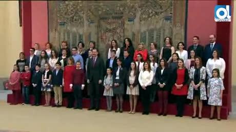 Una niña de Algeciras conoce al Rey Felipe VI gracias a un concurso