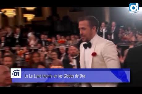 """""""La La Land"""" vuela alto y hace historia en los Globos de Oro"""