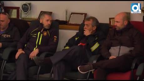 Los bomberos de Málaga mantienen el pulso tras 12 días de encierro