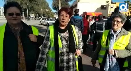 De Londres...a los yayoflautas: los bomberos de Málaga suman apoyos