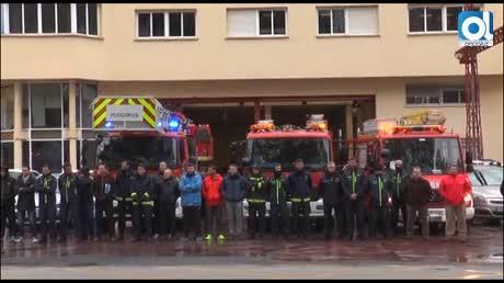La lucha de los bomberos de Málaga llegará al pleno la próxima semana