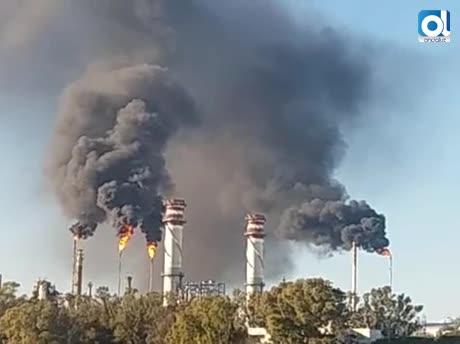 Incidente en Refinería no provocó contaminación grave, según la Junta