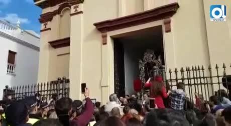 San Antonio Abad cumple 24 horas de recorrido por Trigueros