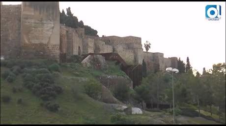 """El mirador de la Alcazaba y el Plan Gibralfaro, """"obsesiones naranja"""""""