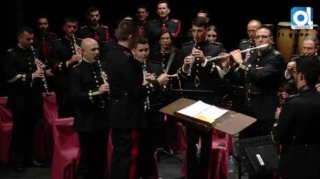 Un gran concierto de la Unidad de Música del Tercio del Sur en el Real