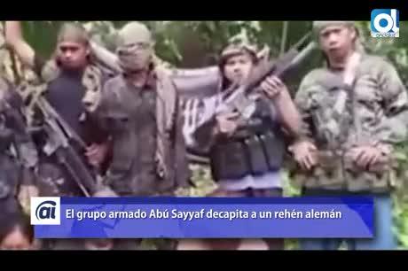 Abu Sayyaf divulga el vídeo de la decapitación de rehén alemán