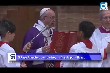 El Papa Francisco cumple 4 años de pontificado