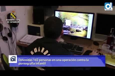 24 detenidos en Andalucía por tenencia y distribución de pedofilia