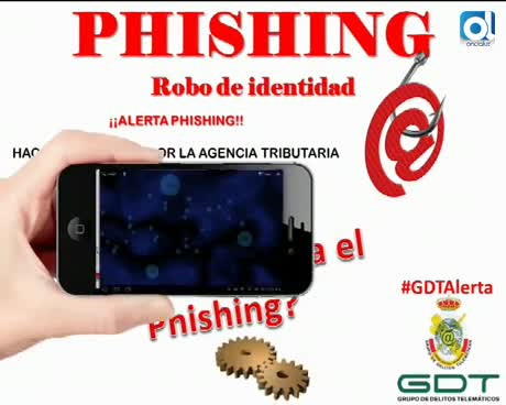 Guardia Civil alerta sobre phishing en Hacienda