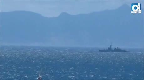 """Gibraltar denuncia una """"incursión"""" de un buque de la Armada española"""