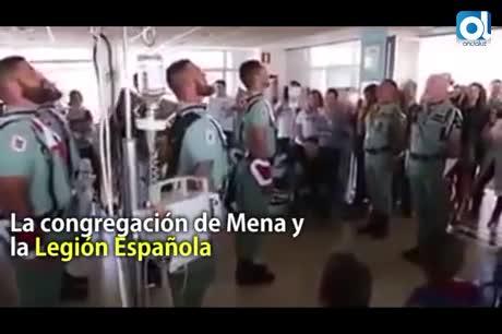 ¿Deben visitar los legionarios a los niños del Materno en Málaga?