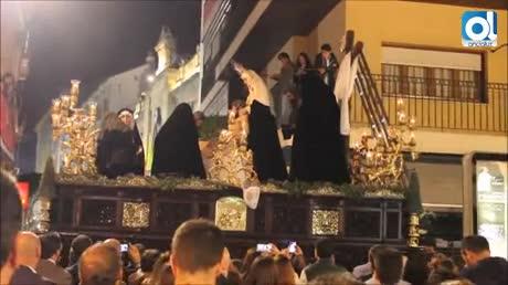 La Sagrada Mortaja de Algeciras aporta su esplendor figurativo