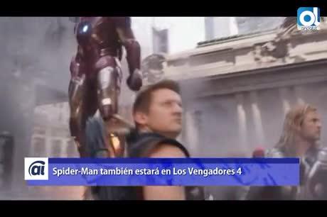 Marvel confirma que Spider-Man estará en los Vengadores