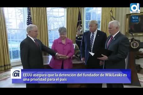 EEUU baraja presentar cargos contra Julian Assange, según medios